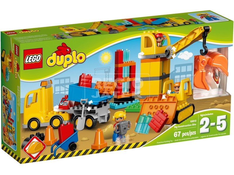 LEGO® DUPLO Nagy építkezés 10813