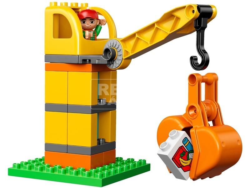 kép nagyítása LEGO® DUPLO Nagy építkezés 10813