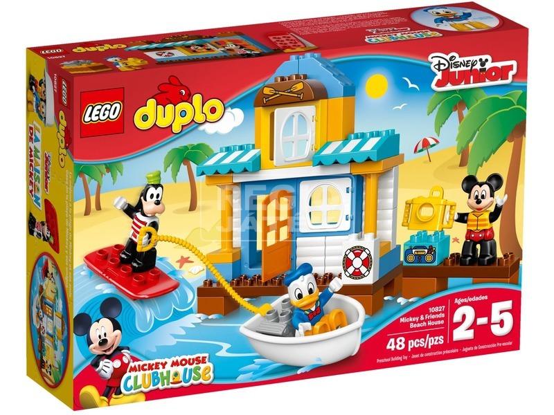 LEGO DUPLO Miki egér tengerparti háza 10827