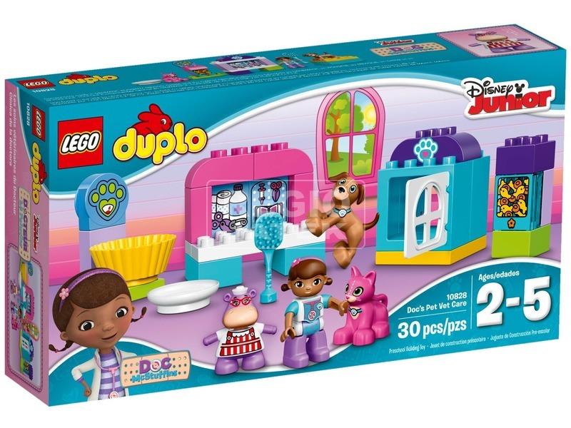 LEGO DUPLO Doktor Plüssi kisállat rendelője 10828