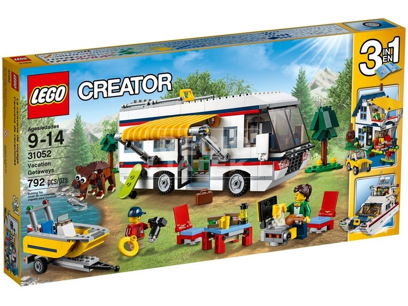 LEGO Creator Hétvégi kiruccanás 31052