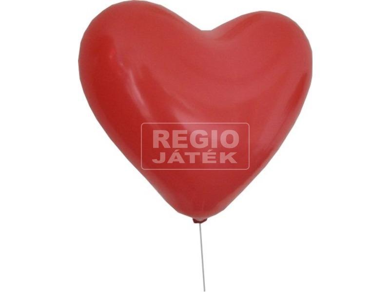 Szív alakú lufi 10 darabos készlet