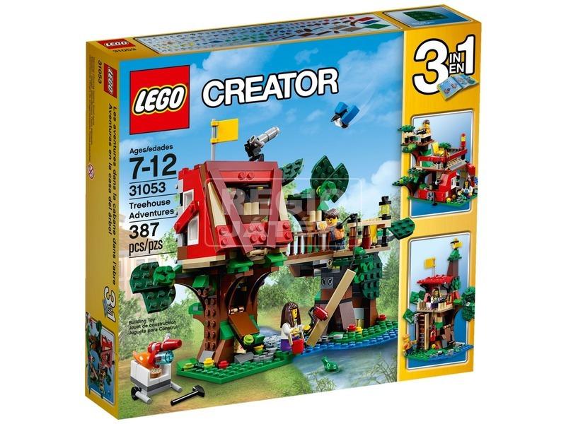LEGO Creator Kalandok a lombházban 31053