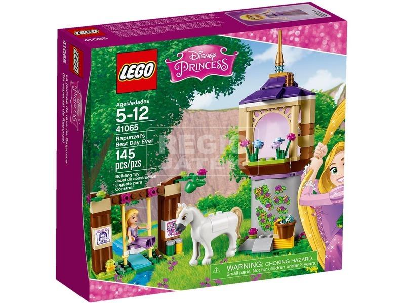 LEGO Disney hercegnők Aranyhaj nagy napja 41065