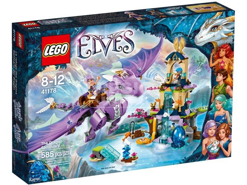 LEGO Elves A sárkány menedékhely 41178