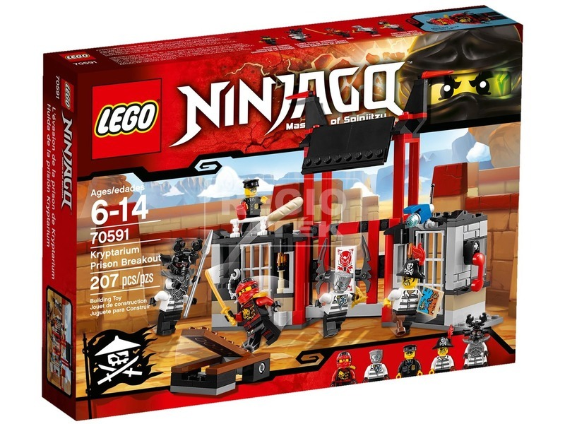LEGO Ninjago Szökés a Kriptárium börtönből 70591