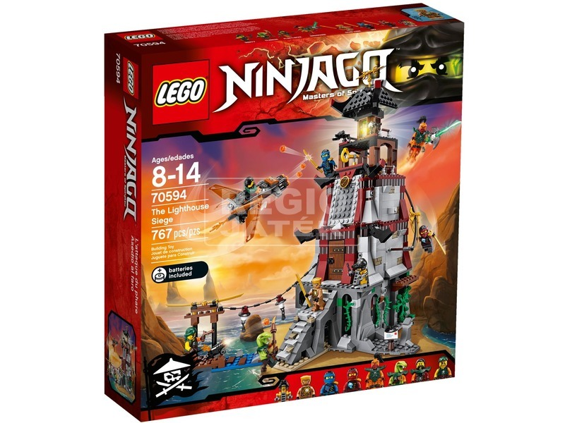 LEGO Ninjago A világítótorony ostroma 70594