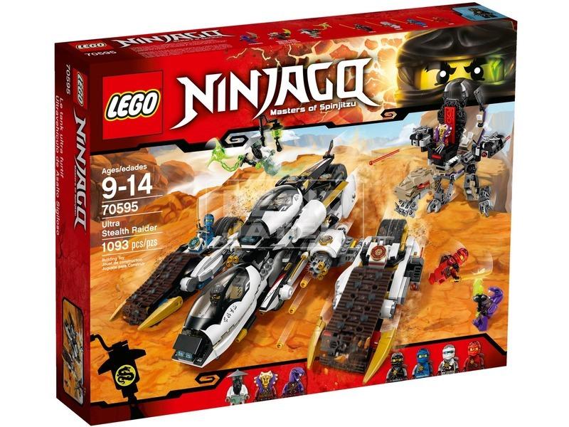 LEGO Ninjago Ultra lopakodó támadó 70595