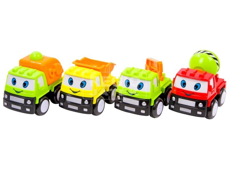 Lendkerekes mini teherautó - többféle