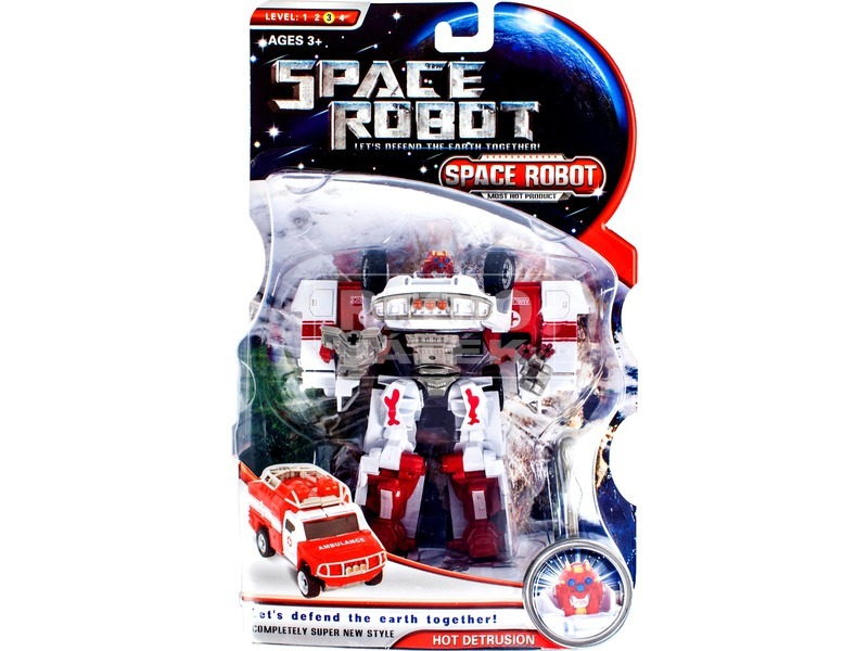 Space Robot átalakítható robot - többféle