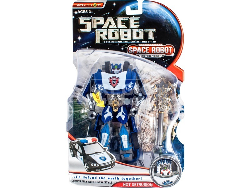 kép nagyítása Space Robot zenélő és világító robot - többféle