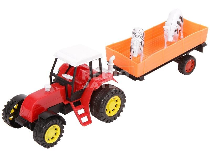 kép nagyítása Lendkerekes traktor állatszállító utánfutóval - 30 cm