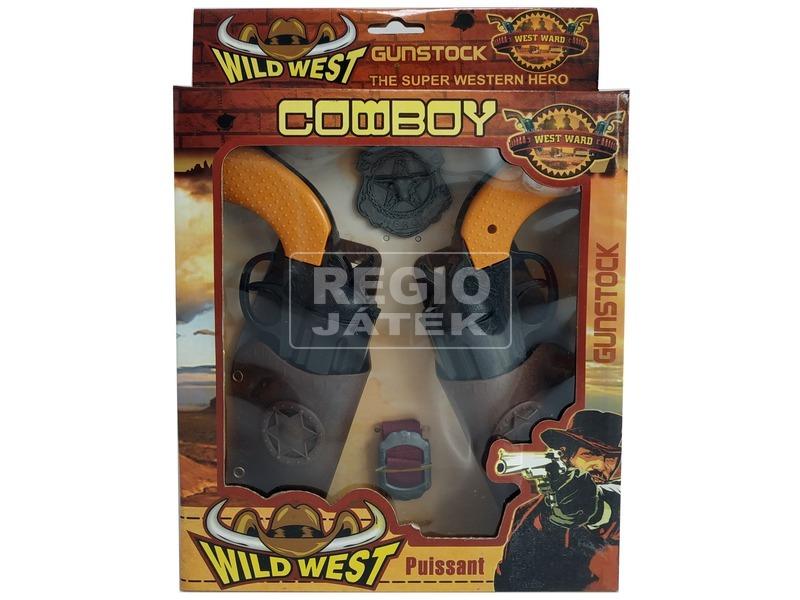 Cowboy páros pisztoly készlet
