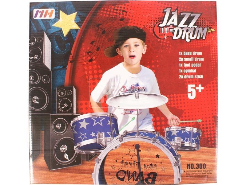 kép nagyítása Jazzdob készlet
