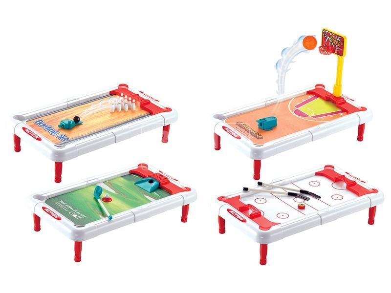 kép nagyítása Asztali sportjáték 4 az 1-ben