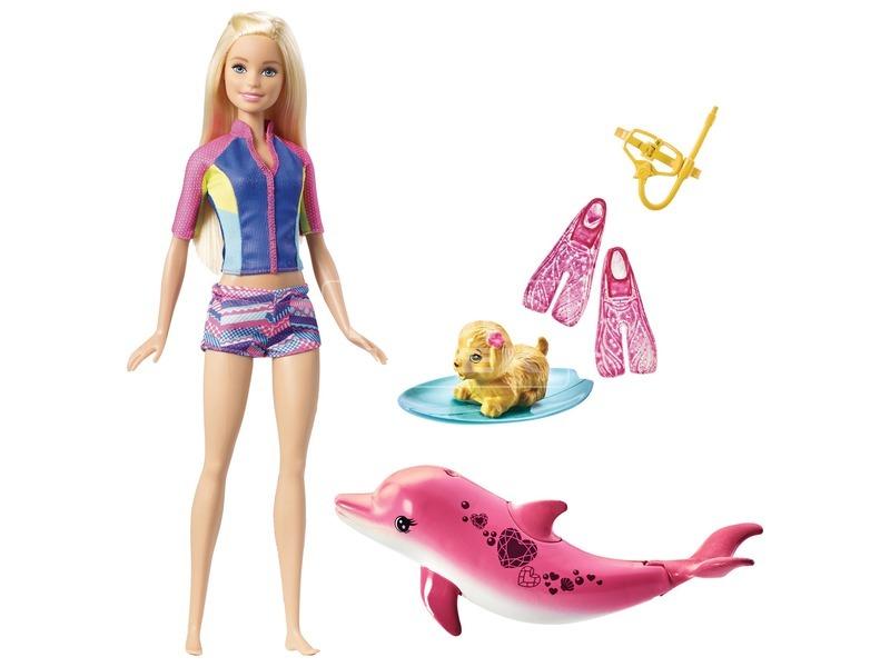 kép nagyítása Barbie: Delfin varázs Barbie baba - 29 cm