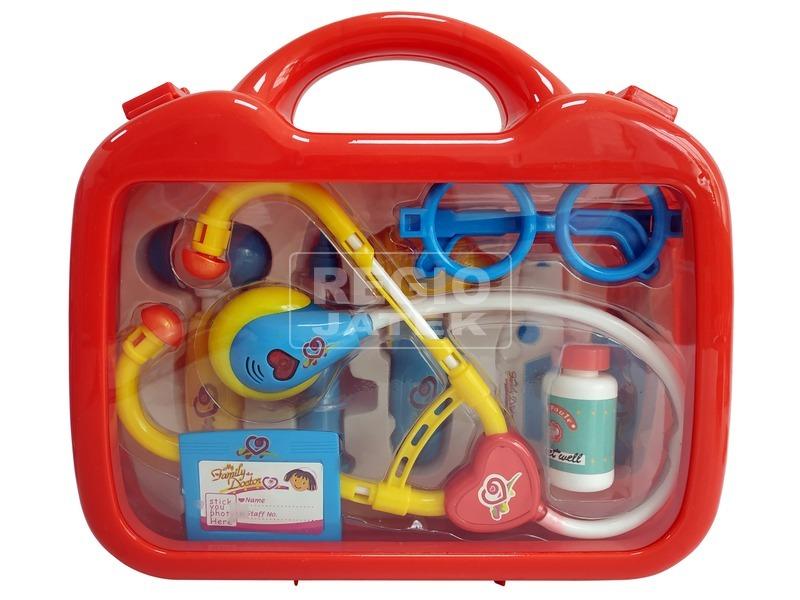 Zenélő doktor készlet táskában
