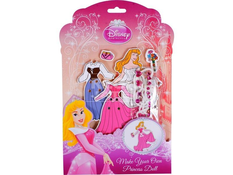 Disney hercegnők öltöztethető baba készítő készlet