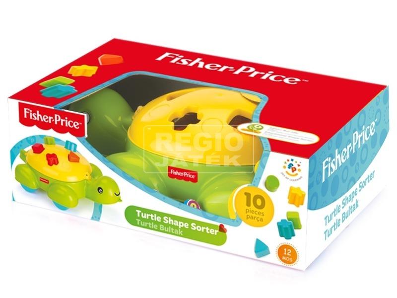 Fisher-Price teknős formakereső bébijáték
