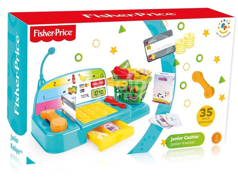 Fisher-Price bébi pénztárgép