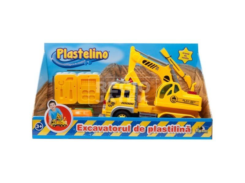 Plastelino építőmester gyurmakészlet