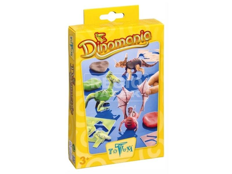 Dínómánia dinoszaurusz készítő készlet