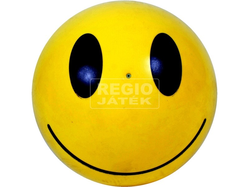 Smiley mintás gumilabda - 22 cm