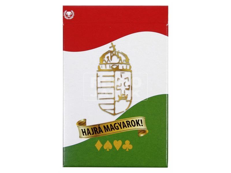 Hajrá magyarok francia kártya arcfestővel