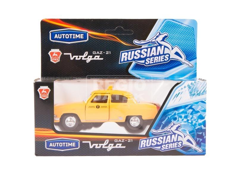 GAZ-21 Volga fém autómodell - 1:43, többféle