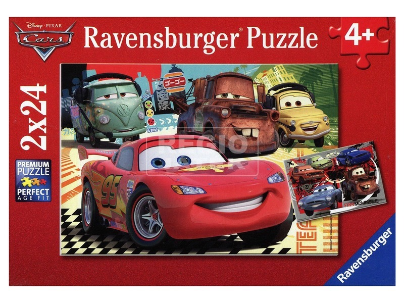 Puzzle 2x24 db - Verdák új kaland