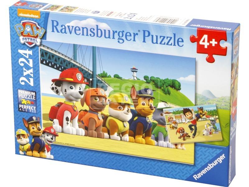 Mancs őrjárat 2 x 24 darabos puzzle