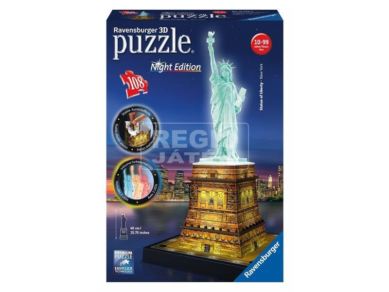 Puzzle 3D 216 db - Szabadságszobor világító