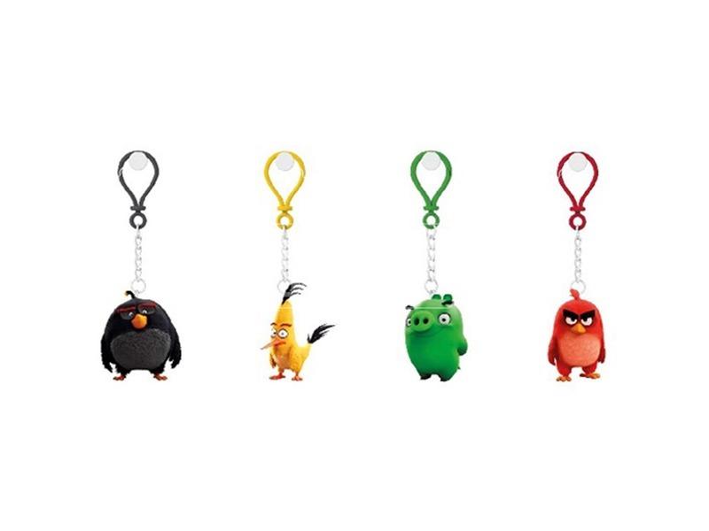 Angry Birds műanyag kulcstartó - 5 cm, többféle