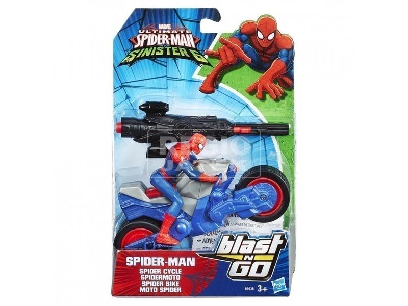 Pókember: Baljós Hatos motor figurával - többféle