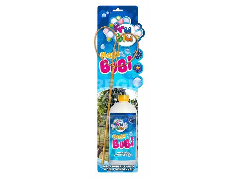 Mega Bubi pillangó buborékfújó készlet - többféle
