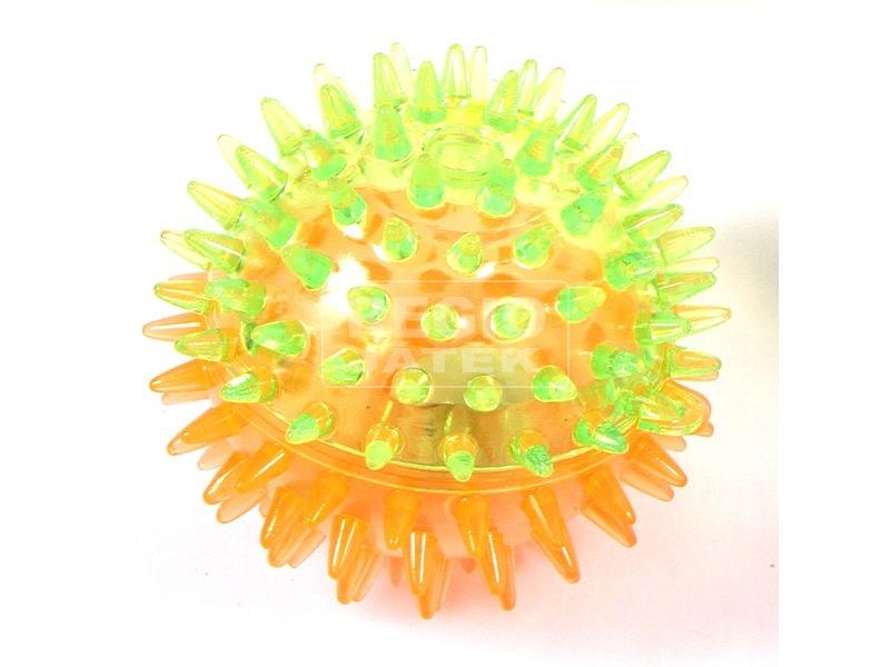 kép nagyítása Villogó tüskés labda - 8 cm, többféle