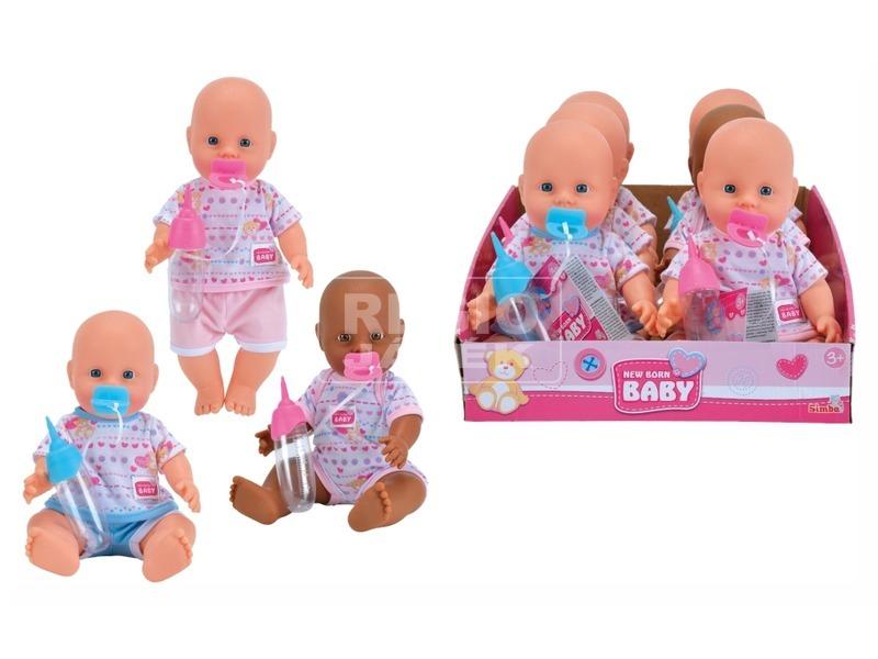 kép nagyítása Newborn Baby játékbaba - 29 cm, többféle