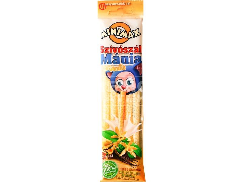 Minimax szívószál mánia - vanília