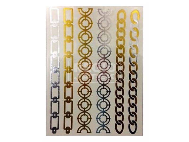 kép nagyítása Ékszerhatású tetováló matrica - többféle
