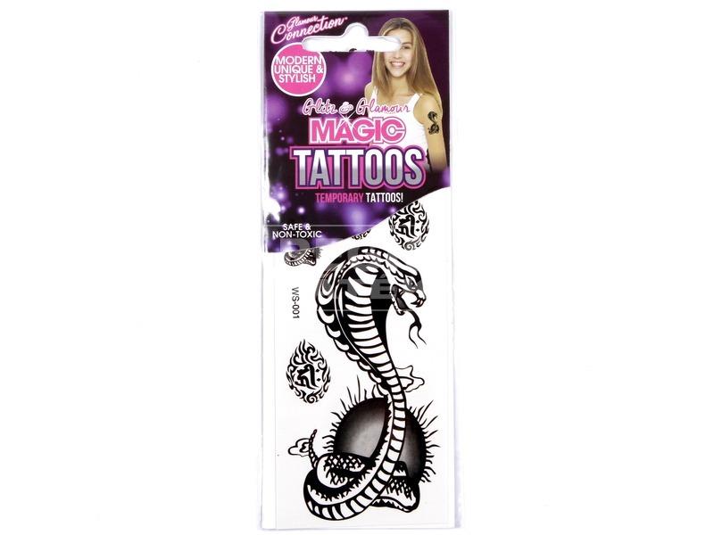 Horror tetováló matrica - többféle