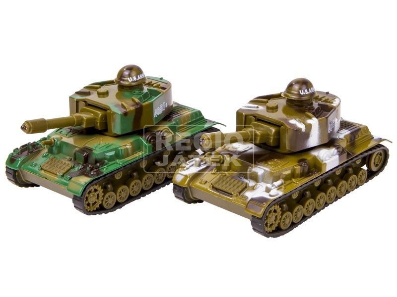 Tank fénnyel és hanggal - 12 cm