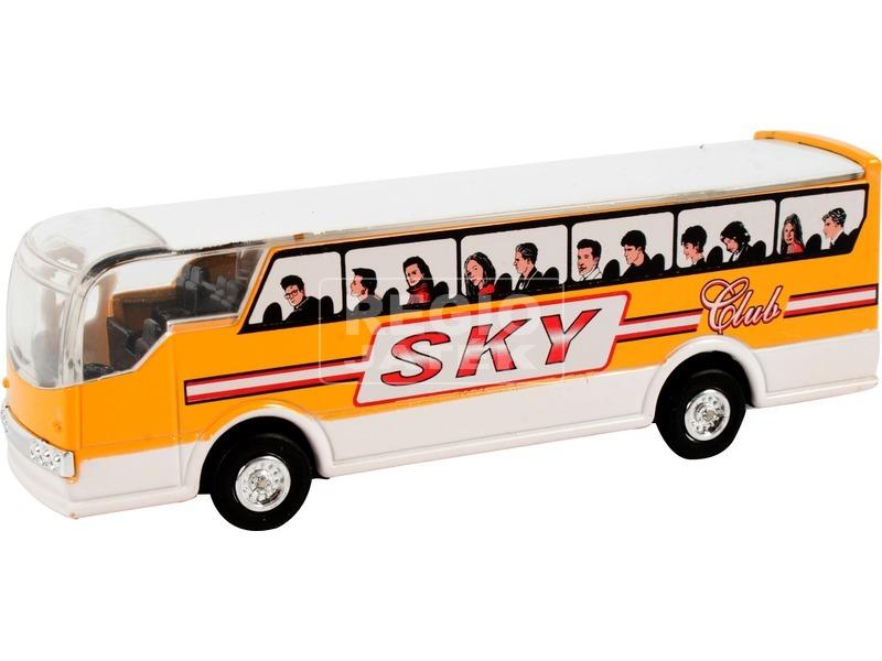 kép nagyítása Sky busz fénnyel - 11 cm, többféle