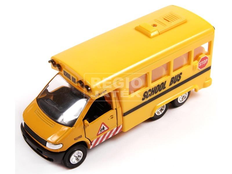 Zenélő iskolabusz - 15 cm
