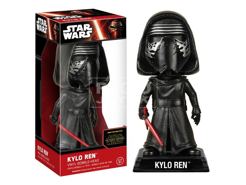 Star Wars Kylo Ren bólogató figura - 18 cm