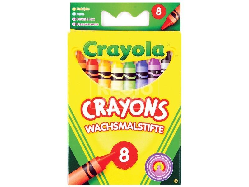 Crayola: 8 darabos zsírkréta
