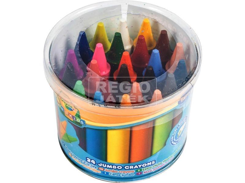 Crayola Jumbo tömzsi zsírkréta, 24 darabos 784