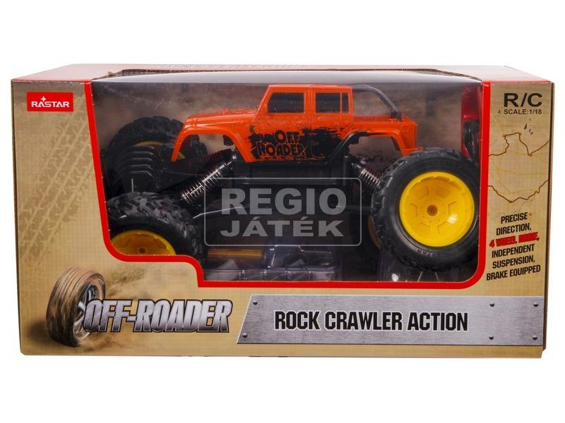 Távirányítós Rock Crawler Action - 1:18, többféle