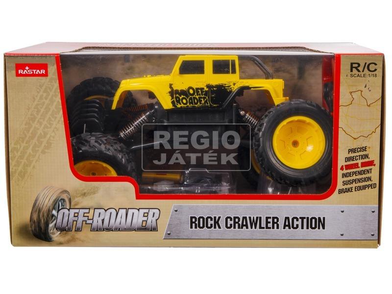 kép nagyítása Távirányítós Rock Crawler Action - 1:18, többféle