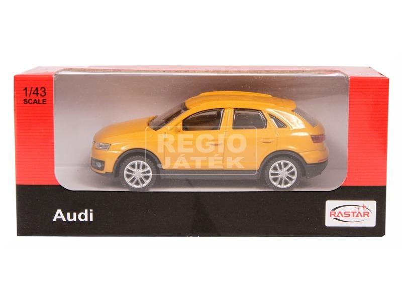 Audi Q3 fém autómodell - 1:43, többféle