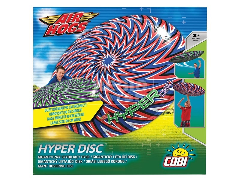 Hyper Disc, Óriási Lebegő Korong SPIN